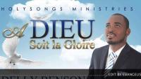 Album A Dieu Soit La Gloire