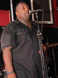 Musician Ricky Juste